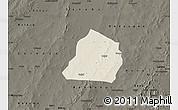 Shaded Relief Map of Ouarkoye, darken