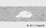 Gray Panoramic Map of Ouarkoye