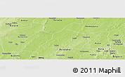 Physical Panoramic Map of Ouarkoye