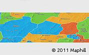 Political Panoramic Map of Ouarkoye