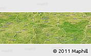 Satellite Panoramic Map of Pa