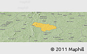 Savanna Style Panoramic Map of Pa