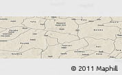 Shaded Relief Panoramic Map of Pa