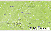 Physical 3D Map of Safane