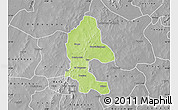 Physical Map of Safane, desaturated