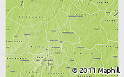 Physical Map of Safane