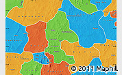 Political Map of Safane