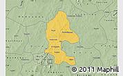 Savanna Style Map of Safane