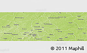 Physical Panoramic Map of Safane