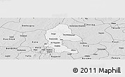 Silver Style Panoramic Map of Safane