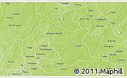 Physical 3D Map of Tcheriba
