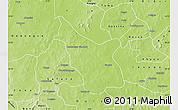 Physical Map of Tcheriba
