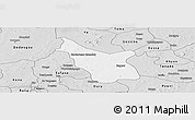 Silver Style Panoramic Map of Tcheriba