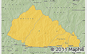 Savanna Style Map of Nahouri