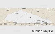 Classic Style Panoramic Map of Nahouri