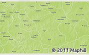 Physical 3D Map of Boulsa