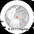 Outline Map of Boulsa