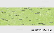 Physical Panoramic Map of Boulsa