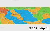 Political Panoramic Map of Boulsa