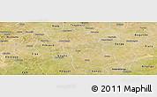Satellite Panoramic Map of Boulsa