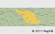 Savanna Style Panoramic Map of Boulsa