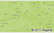 Physical 3D Map of Bouroum