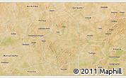Satellite 3D Map of Bouroum