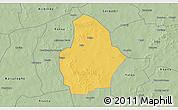 Savanna Style 3D Map of Bouroum