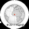 Outline Map of Kando