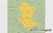 Savanna Style Panoramic Map of Namentenga