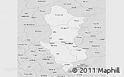 Silver Style Panoramic Map of Namentenga