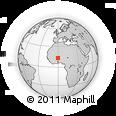 Outline Map of Tougouri