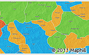 Political 3D Map of Zeguedeguin