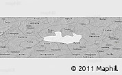 Gray Panoramic Map of Bousse