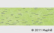 Physical Panoramic Map of Dapelgo