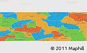 Political Panoramic Map of Dapelgo