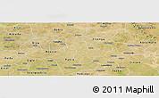 Satellite Panoramic Map of Dapelgo