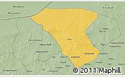 Savanna Style 3D Map of Deou