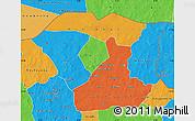 Political Map of Oudalan