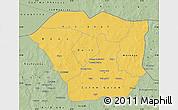 Savanna Style Map of Oudalan