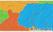 Political 3D Map of Markoye