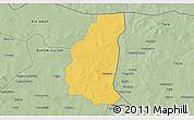 Savanna Style 3D Map of Markoye