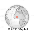 Outline Map of Markoye