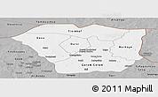Gray Panoramic Map of Oudalan