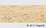 Satellite Panoramic Map of Oudalan