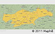 Savanna Style 3D Map of Passore
