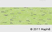 Physical Panoramic Map of Bokin