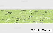 Physical Panoramic Map of Passore