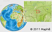 Physical Location Map of Samba