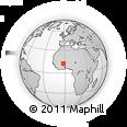 Outline Map of Samba